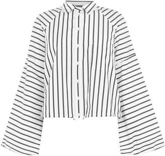 Sportmax Code Tazzina Striped Drawstring Shirt