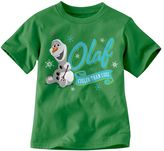 "Disney frozen olaf ""cooler than cool"" tee - toddler"
