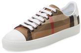 Burberry House Check Cap-Toe Sneaker