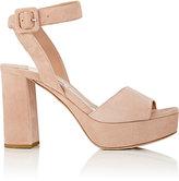 Miu Miu Women's Ankle-Strap Platform Sandals