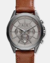 Armani Exchange Drexler Brown Chronograph Watch