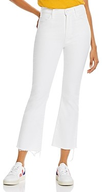 Mother The Hustler Flare-Leg Ankle Jeans in Unfairest of Them All - 100% Exclusive
