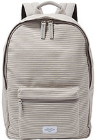 Fossil Ella Striped Canvas Laptop Backpack