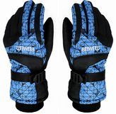 Winter Outdoor Cold Weather Gloves Okany Skiing Gloves for Men & Women Bb66 blue