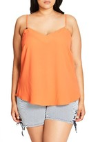 City Chic Plus Size Women's Luxe Detail Camisole