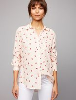 A Pea in the Pod Rails Patch Pocket Maternity Shirt