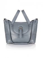 Meli-Melo Thela Medium Tote in Blue Heron Nappa- Sold out