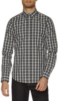 Ben Sherman Ls Single Plain Tartan