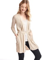 Gap Pure Body ribbed wrap sweater