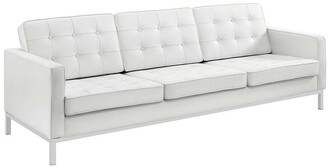 Modway Loft Leather Sofa