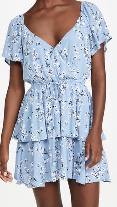 MinkPink Bluebell Fields Mini Dress