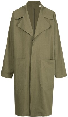 Kent & Curwen oversized trench coat