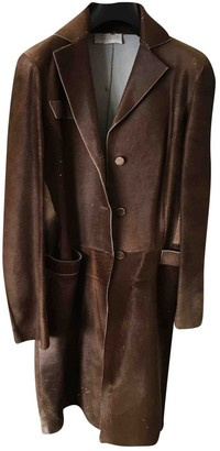 Genny Camel Fur Coat for Women