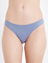 Calvin Klein Perfectly Fit jersey and stretch-lace thong