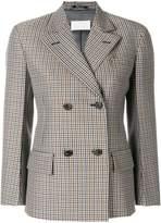 Maison Margiela cropped sleeved double breasted blazer