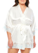 Asstd National Brand Charmeuse Kimono Robes-Plus