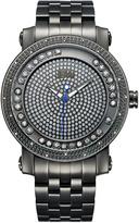 JBW Black Hendrix Diamond Bracelet Watch - Men