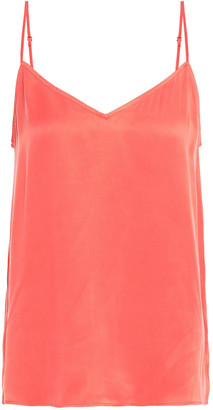 Equipment Layla Washed Silk-blend Camisole