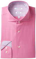 Isaac Mizrahi End on End Slim Fit Dress Shirt