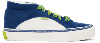 Vans Blue and Off-White Taka Hayashi Edition Snake Trail LX Sneakers