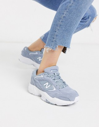 New Balance 452 trainers in grey