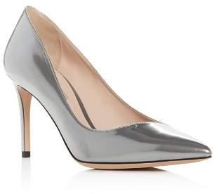 Giorgio Armani Women's Decollete Patent Leather Pointed Toe Pumps