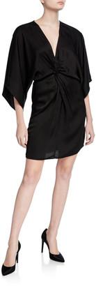 Velvet Zoey Twisted Kimono-Sleeve Dress