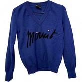Sonia Rykiel Blue Wool Knitwear for Women