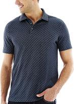 Van Heusen Short-Sleeve Jacquard Polo