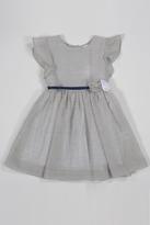 Malvi & Co. Ecru Striped Dress