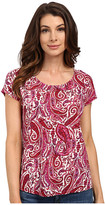 Lucky Brand Printed Paisely Top