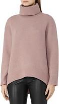 Reiss Philberta High/Low Turtleneck Sweater
