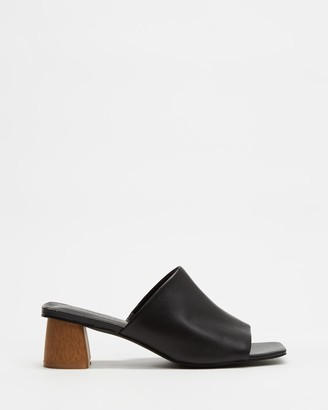 Atmos & Here Leon Leather Heels