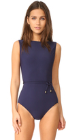 Michael Kors Nautical Strappy One Piece Swimsuit