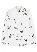 Soulland All Printed Cotton Shirt