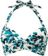 Phase Eight Leaf Print Bikini Top