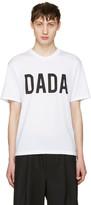 Christian Dada White Logo T-shirt