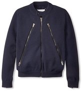 Maison Margiela Men's Zipper Front Sweater Jacket