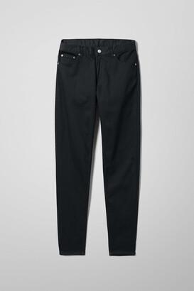 Weekday Cone Slim Tapered Jeans - Black