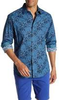 Robert Graham Chikasaw Long Sleeve Print Classic Fit Woven Shirt