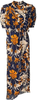 Johanna Ortiz Feminine Pose wrap dress