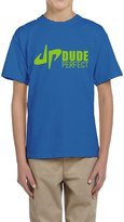 Hera-Boom Youth's YouTube DP Dude Perfect Trick Shots Logo T-shirts