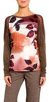 Smash Wear Women's Coberta Camiseta Estampada-A1613307 Long-Sleeve T-Shirt,L