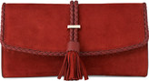 LK Bennett Tracy leather clutch