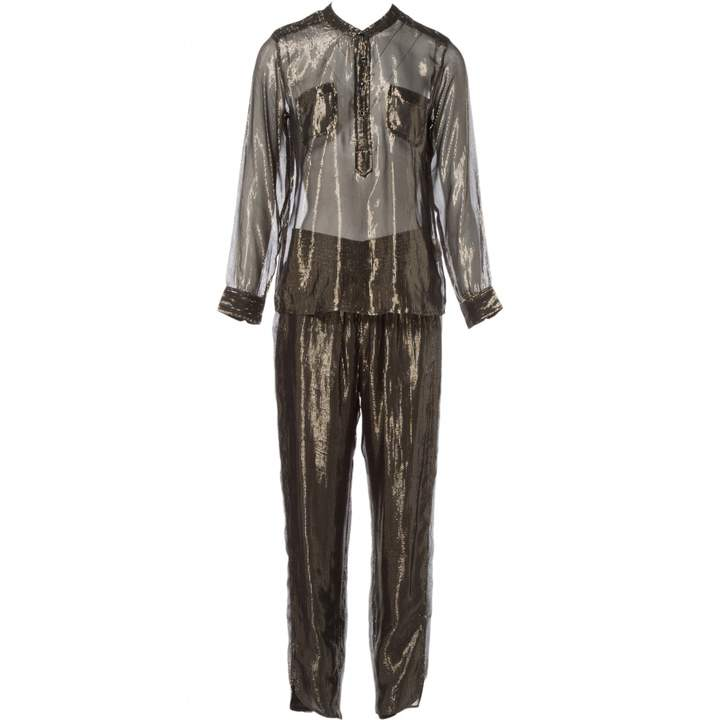 Laurence Dolige Metallic Jumpsuit for Women