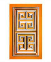 Jonathan Adler Greek Key Beach Towel, Orange