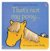 Bed Bath & Beyond Usborne That's Not My Pony Touchy-Feely Board Book