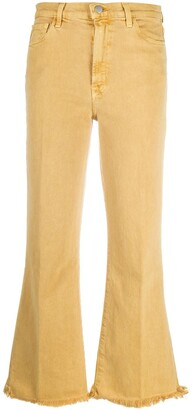 J Brand Julia high-rise flared jeans