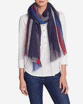 Eddie Bauer Women's Lake Serene Nautical Stripe Wrap