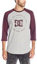 DC Men's Rebuilt 2 3/4 Raglan T-Shirt